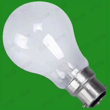 10x 100W Tungsten Filament Lamp Rough Service Pearl Light Bulbs BC B22 Globes
