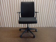 Think Office Chair in Black Fabric By Steelcase, Adjustable Ergonomic chair