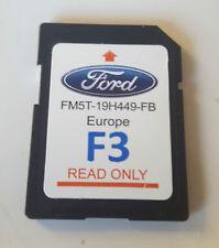FORD SD CARD f3 Sync TOUCHSCREEN NAVIGAZIONE NAVIGATORE SATELLITARE MAPPA ORIGINALE fm5t-19h449-fb