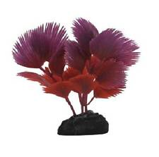 Penn Plax Fan Palm Betta Fish Aquarium Ornament PURPLE/RED - PPBT16