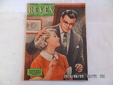 REVES N°220 14/09/1950 ROMAN PHOTO DESSINE LE BAL DES AMANTS PERDUS TRICOT   G8