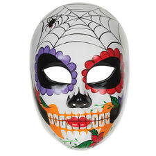 Day Of The Dead Face Mask Halloween Fancy Dress Costume Prop Mexican Skull