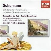 Schumann: Cello & Piano Concerto (Du Pre/Barenboim) (CD 1986)