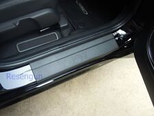 MATTE BLACK SILLS SCUFF PLATE DOOR STEP FOR HONDA HRV HR-V HONDA VEZEL 2015