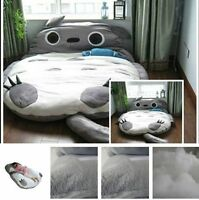 2015 New Huge Comfortable Cute Cartoon Totoro Bed Sleeping Bag Pad 290*160cm
