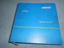 1980 FIAT BRAVA FACTORY REPAIR SERVICE SHOP MANUAL NORTH AMERICA 3342