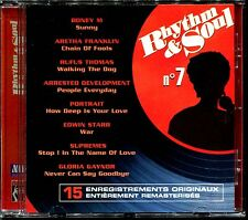 RHYTHM & SOUL N°7 - DISCO FUNK BLACK MUSIC MOTOWN - CD COMPILATION [1973]