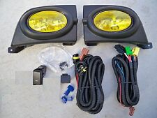 06-08 Honda Civic FA 4  dr Sedan JDM Yellow Fog Light Kit + Harness + Switch Si