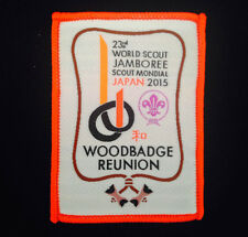 23rd world scout jamboree WOODBADGE REUNION BADGE 2015