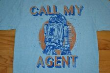 "Star Wars R2D2 ""Call My Agent"" By: Fifth Sun T-Shirt  Men's Size: XX-Large  NWT"