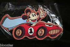 Disney Mickey Mouse in Vintage #1 Car Wooden Ornament