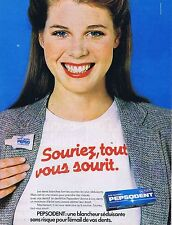 PUBLICITE ADVERTISING 114 1979 PEPSODENT dentifrice