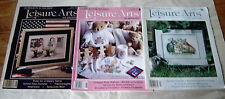 Lot 21 80s 90s Cross Stitch Quick & Easy Leisure Arts Craft Magazines