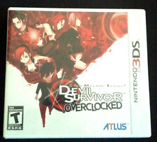 Shin Megami Tensei: Devil Survivor Overclocked  (Nintendo 3DS, 2011) New