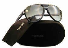 New Tom Ford Sunglasses Men Aviator TF 334 Black 01P Dimitry 59mm