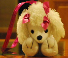 New Without Tag - A Poochie & Co.  Plush  Poodle Dog Purse