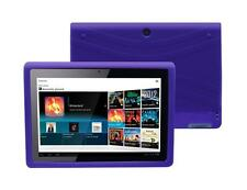 for Sony Tablet S SGPT111 SGPT112 Soft Silicone Rubber Skin Cover Case, Purple