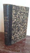 1925/30 LA GAZETTE 9è TABLE ALPHABETIQUE/ REPERTOIRE ALPH./J.THESMAR/TOME1/ABE