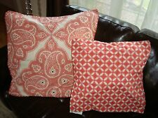 Pottery Barn Scarlett And Audrey Applique Pillow Covers  NEW PERFECT FOR FALL!