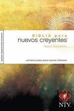 Biblia para Nuevos Creyentes Nuevo Testamento NTV (2009, Paperback)