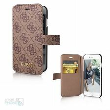 "GUESS iPhone 6,6s 4,7"" Book Case Cover Schutzhülle Handy Tasche Motiv Logo"