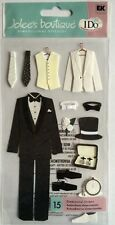 "Jolee's Boutique ""Groom Tux"" Dimensional Stickers"