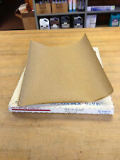"Norton#07660700355  9""X11"" 180-A  A212 Adalox Paper, NOS, Pack Of 25"