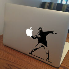 "BANKSY Apple MacBook Decal Sticker fits 11"" 13"" 15"" and 17"" models"