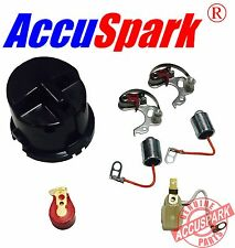 Austin Sprite 1098/1275 Points condenser red rotor arm service kit for Lucas 25D