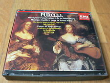 Munrow / Ledger - Purcell : Odes for Queen Mary's birthday - 2 CD EMI 1992