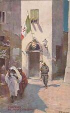X792) LIBIA, TRIPOLI, LE REGIE POSTE ITALIANE DI CODOGNATO. MOBILI LA FIDUCIARIA