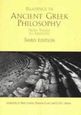 Readings In Ancient Greek Philosophy: From Thales To Aristotle S. Marc Cohen Pa