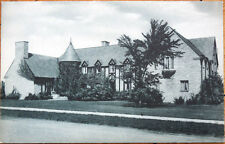 1930s Postcard: Delta Tau Delta Fraternity House, Penn State - State College, PA