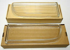 BMW 7 E38 Right and Left foglights lamps GLASS lights set pair 1994- Petrol