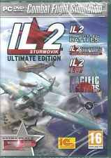 IL2 Sturmovik Complete, Forgotten Battles, Ace Pack, 1946, Pacific Fighters, PC