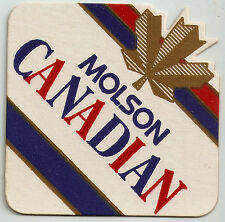 16 Molson Canadian  / Light  Die Cut  Beer Coasters