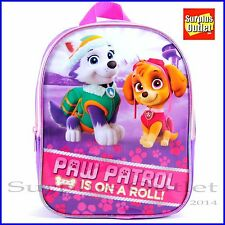 "Paw Patrol  10.5"" Small toddler  backpack"
