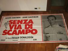 MANIFESTO 6F,Senza via di scampo (No Way Out),Kevin Costner,Donaldson,Hackman