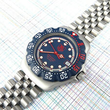 TAG Heuer Midsize Formula 1, Blue Dial WA1210 NEW Bezel, Battery and Glass