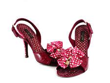 Louis Vuitton Shoes Crocodile Slingback Sandals Heels 7.5