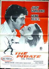 THE PIRATE Vintage Spain One Sheet Premiere Poster JUDY GARLAND GENE KELLY