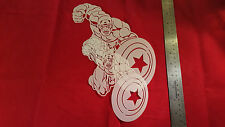 YOUTH ADULT T SHIRT AIRBRUSH STENCILS COMMANDER LIBERTY SET OF 2 FAST FREE SHIP!