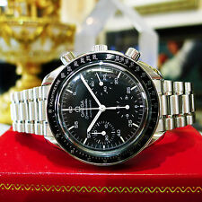 Mens OMEGA Speedmaster Automatic Chronograph Stainless Steel Watch Circa 1998