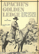 Apache's Golden Ledge of Los Soldie's Gold Miner