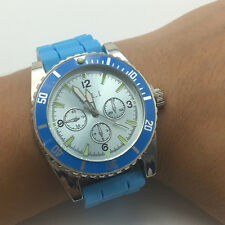 Real Working Wrist Watch With Secret Stash Tobacco Grinder Blue Color