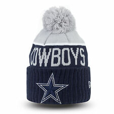 DALLAS COWBOYS NFL NEW ERA ON FIELD SIDELINE BEANIE KNIT HAT CAP - AUTHENTIC