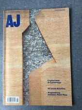 Architects Journal 8 Jul 92 Crystal Clear In Cambridge, EC Work Directive,