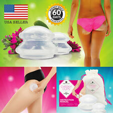 New Silicone Vacuum Cups Set Anti Cellulite Cupping Massage Kit - USA Seller