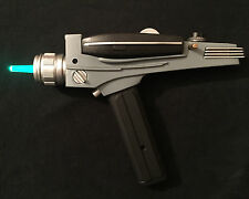 Modified Star Trek Art Asylum Diamond Select Black Handle Phaser Green& Blue Led