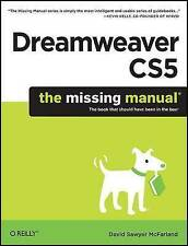 Dreamweaver CS5: The Missing Manual, David Sawyer Mcfarland